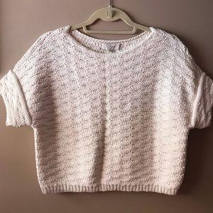 LOFT Crop 🧶 Knit Sweater